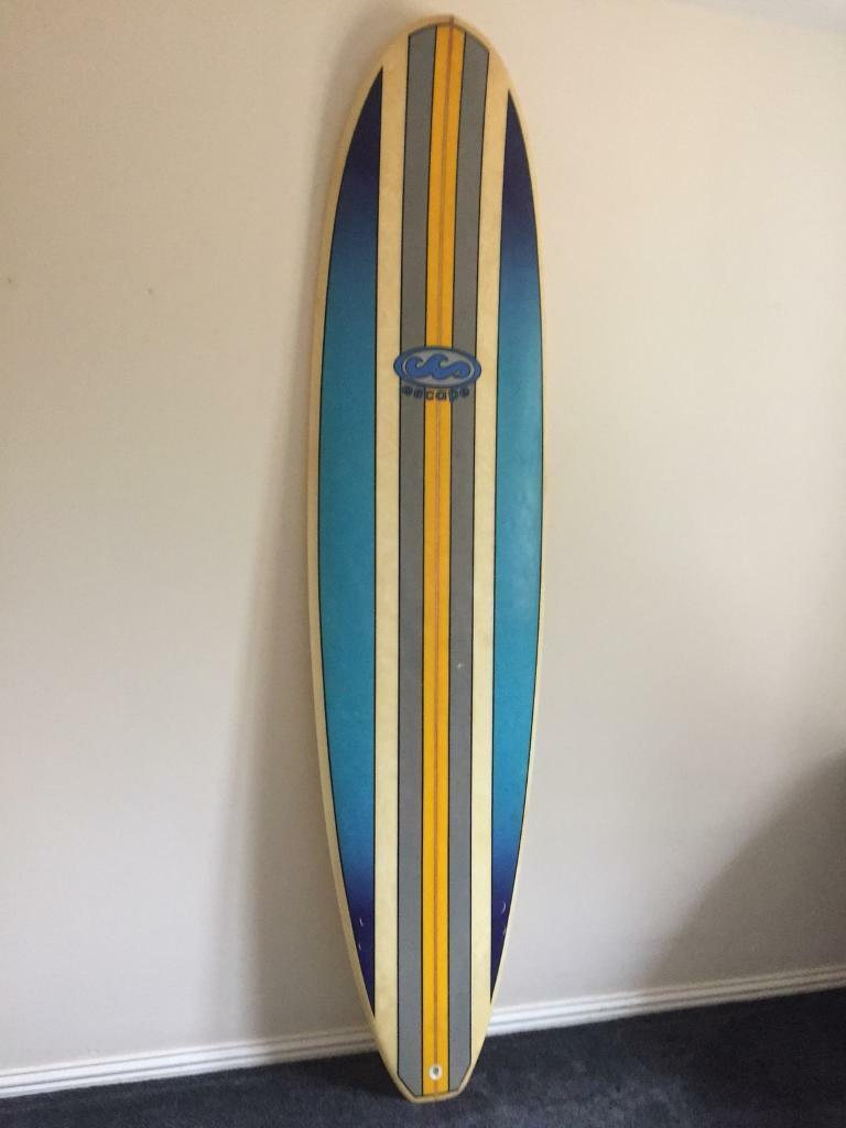 7ft 6 Escape Mini Mal Surfboard Longboard In St Austell Cornwall
