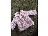 Baby girl coats 6-9 months