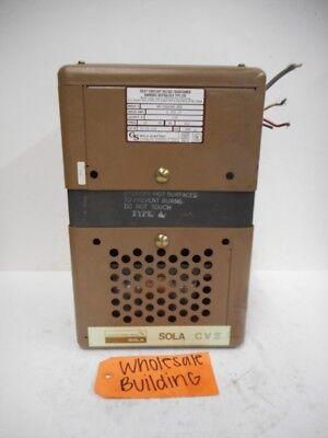 Sola Constant Voltage Transformer 23-22-15c 500va 60hz