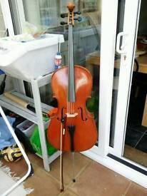 Beginner's 3/4 size cello