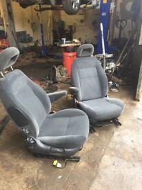 X2 camper van captain swivel seats with bases an arm rests t4 t5 vivaro vito etc