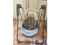 Graco baby swing battery operated