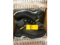 Work boots (dewalt steel toe)