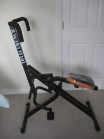 Total Crunch exercise machine / work out / cardio fitness