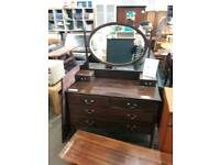 Vintage Dressing Table With oval mirror - Delivery Available