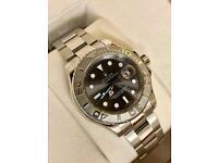 Rolex yacht master rhodium dial brand new £250