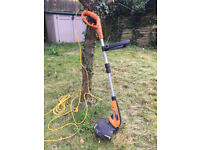 Worx Electric Grass Trimmer - lawn trimmer - hedge trimmer