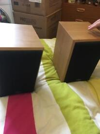Pair of eltax speakers