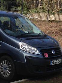 Fiat scudo 9 seater