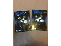 Drums grade 6 & 7 rock school books and cds