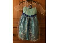 Disney Princess Frozen Deluxe Elsa Dress (4-6 Years)