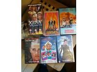 Girl power VHS Videos, Thelma & Louiese, Tomb Raider, Zena warrior princess box set,