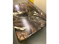 Marble Topped Coffee Table (Large)