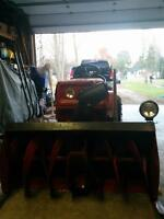 16 hp MTD tractor with 40 blower