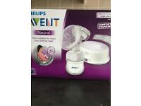 Electric Avent Breast Pump with a free set of 60 Lansinoh Breast pads