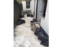 Hardcore/rubble/old crazy paving for sale