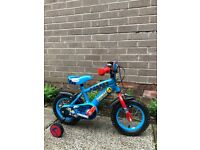 "12"" Thomas the Tank Engine Bike with Stabilisers"