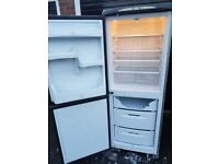 fridge freezer silver(can deliver)