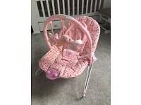 Chad Valley baby bouncer - pink