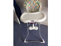 Graco Tea Time High Chair with removable tray & foot rest