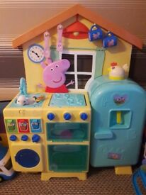 Peppa pig kitchen toys
