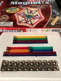 Magnetix 30 piece Xtenders construction set