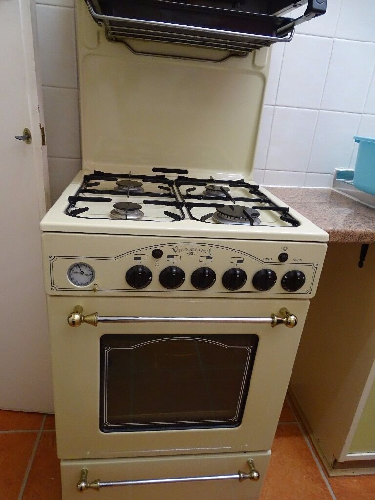 Leisure Victoriana El Gas Cooker With Eye Level Grill In A