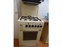 Leisure Victoriana EL gas cooker with eye level grill in a cream colour.
