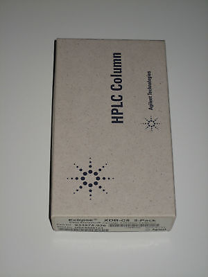 Hplc Column Cartridges Agilent Zorbax Xdb-c8 3-pack Nos 933975-936 Guard