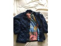Girls age 7 joules coat