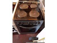 Electric Cooker - BUSH 50cm- Hotplate - White - Single Oven