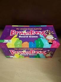 Brain Box Board Game-Like new condition