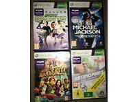 Xbox 360 Kinect game bundle