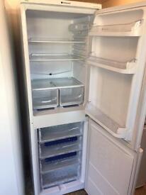 Hot point fridge freezer white ice diamond