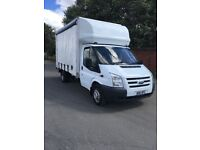 2011 ford transit 115 t350 2.4 tdci curtain sider with taillift 1 owner from new