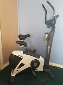 A used and fully functioning Reebok B 5.1e Excersise Bike