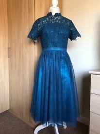 Beautiful knee length, lace dress size 10