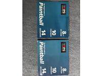 X2 10 paintballing tickets for sale