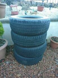 4 good tyres new condition