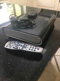 Sky+ HD 2TB box with mini wireless connector