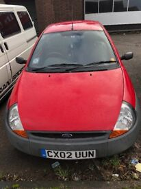 2002 Ford KA, cheap, works, low mileage
