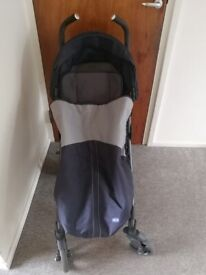 Chicco Liteway 3 Stroller with rain and wind cover