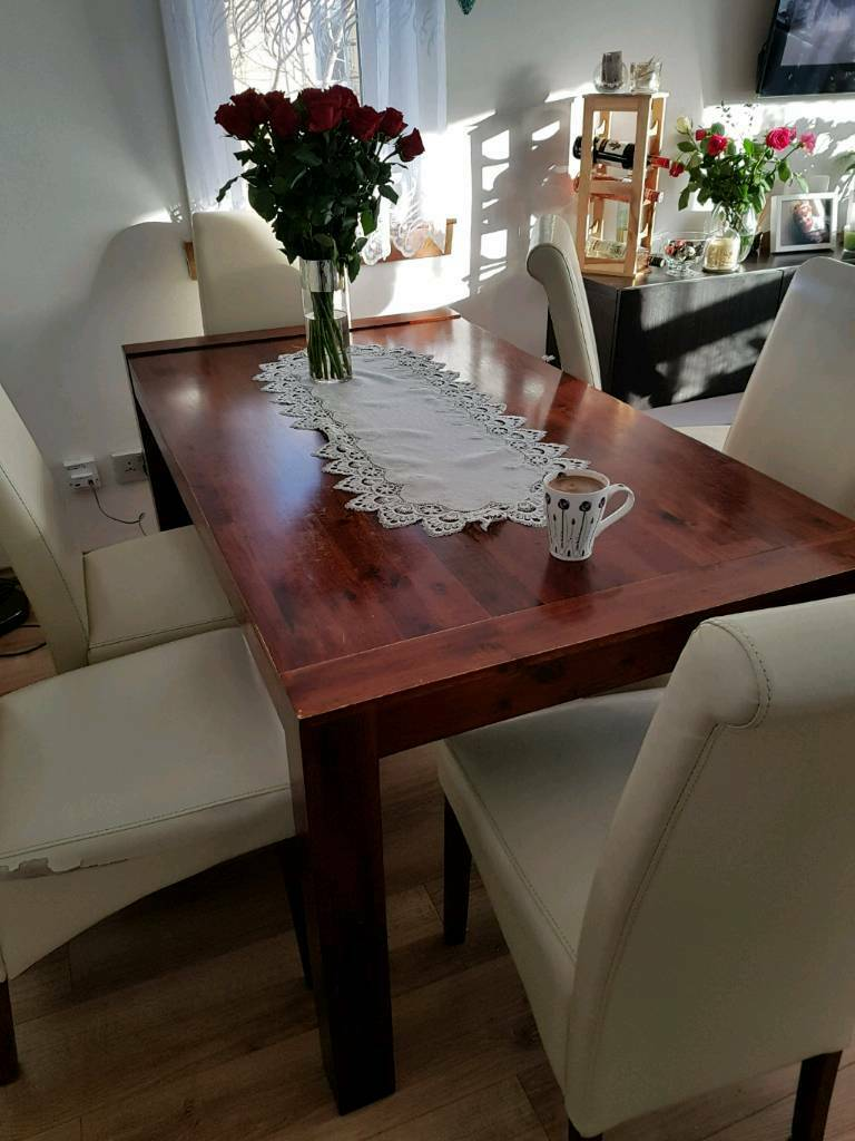 Dining Table And 6 Chairs Perth