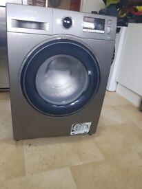 SAMSUNG WW80J5555FX/EU 8 kg 1400 Spin Washing Machine - Graphite a+++
