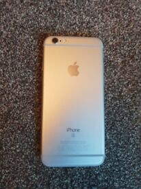 Apple iPhone 6s silver 32GB- near perfect condition