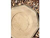 Very Rare Wild Animal print stepping stones x5
