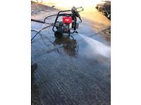 Yanmar Diesel electric start pressure washer, ideal for driveways