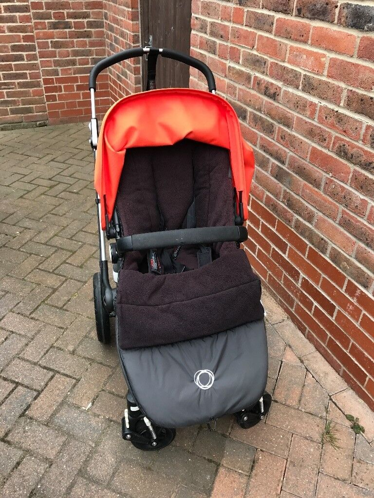 Bugaboo Cameleon 3 with High Performance Footmuff