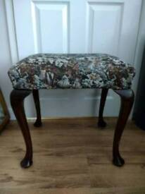 Large Rustic Stool (Great Upcycling/Shabby Chic) Project
