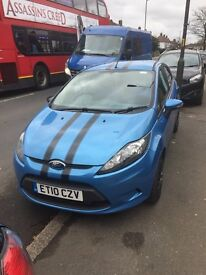 Ford Fiesta economic 2010 (cheap car to run NO TAX TO PAY) diesel, 2 keys, lady owner, 1.6L